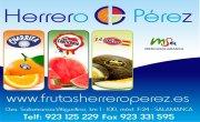 Frutas Herrero Pérez patrocina el Trofeo Jugador Más Goleador