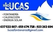 Fontaneros Hermanos Lucas - Fontanería, calefacción, energía solar.
